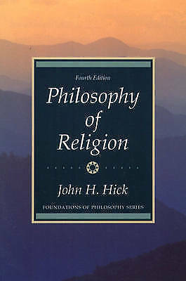 Philosophy of Religion by John H. Hick (Paperback, 1989)