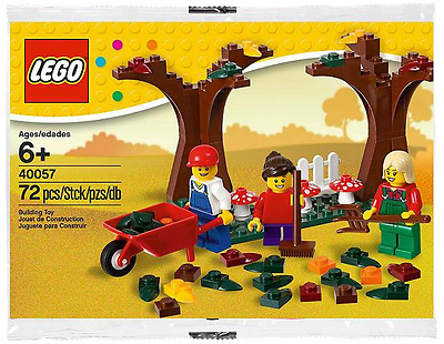 LEGO Seasonal Set 40057 - Fall Scene MISB
