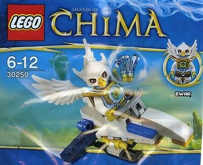 LEGO Legends Of Chima 30250 - Ewar's Acro Fighter MISB