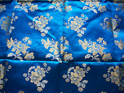 Vintage Japanese silk fabric 2 yards