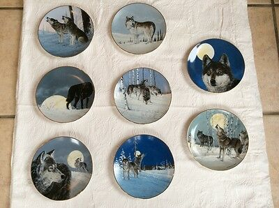 The Artic Majesty Plate Collection by Princeton Gallery (8) plates