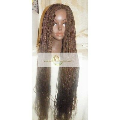 Senegalese micro hand braided wig 30 inches (Colour 4)