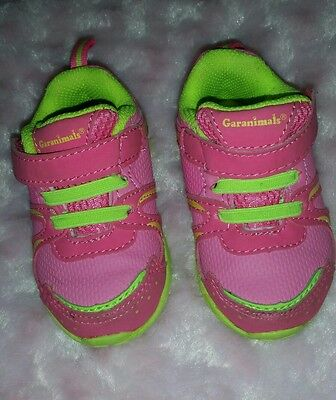 Toddler Baby Girl tennis shoes size 3 EUC