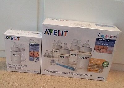 Philips Avent Newborn Starter Set Kit Brand New (RRP £30) Plus Bottle Set