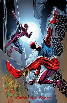 Ben Reilly Scarlet Spider #1 (2017) Scarce 1:15 Js Campbell Variant Cover