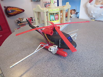Vintage Mid Night Thunder Helicopter Crop Duster ,movie Film Helicopter
