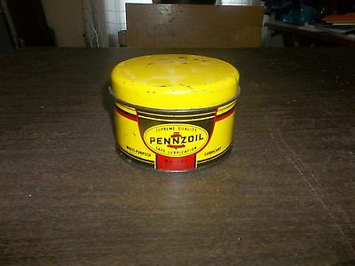 Vintage Pennzoil Multi-Purpose Lubricant Grease Oil Can Gas Station Advertising!
