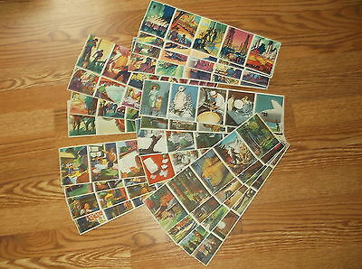 1943 Coca Cola Our America collector cards, no posters 5 different complete sets