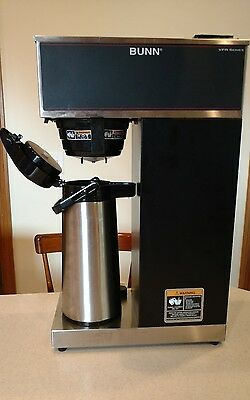 Bunn VPR Pourover Airpot Coffee Brewer Maker VPR‑APS 33200.0012 Commercial EUC