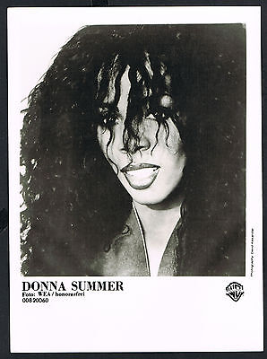 PRESS PHOTO, Donna Summer, Sängerin-music-Musik, Songwriter, Pressefoto /118b