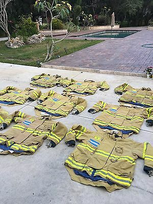 Morning Pride Turnout Gear Coat size 48 52 varying lengths 334-347