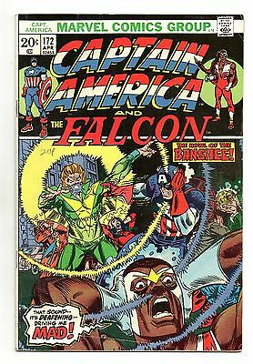 Captain America Vol 1 No 172 Apr 1974 (FN-) Marvel, Bronze Age (1970 - 1979)