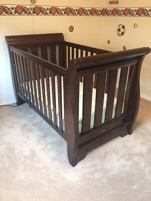 Boori Sleigh 3 in 1 Baby Cot & Toddler Bed