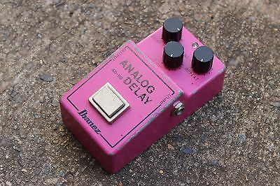 1981 Ibanez AD-80 Analog Delay MN3005 Vintage MIJ Japan Effects Pedal