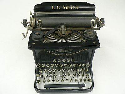 Vintage L. C. Smith and Corona 8 11 Inch Typewriter