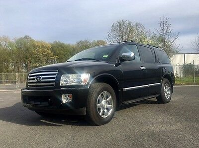 2007 Infiniti QX56  2007 INFINITY QX56, FULLY LOADED, DVD/NAV 3 ROW SEAT, NEWER TIRES, NO RESERVE!