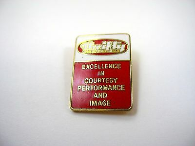 Vintage Collectible Pin: Thrifty Drug and Discount Store Excellence in Courtesy