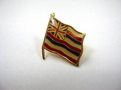 Vintage Collectible Pin: Hawaii State Flag
