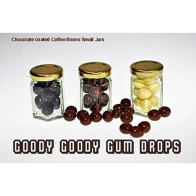Chocolate covered Coffee Beans (10 Small Jars)