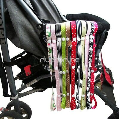 5pcs Baby Infant Toys Safety Strap Belt Stroller Holders Anti-lost Chain Rope