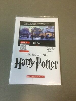 """Harry Potter And The Cursed Child Target Exclusive Poster 18"""" X 24"""" **Brand New*"""