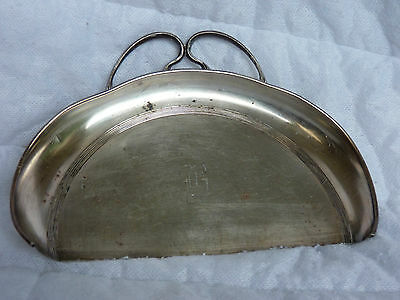 """Vintage F. B. Rogers Silver Co. Silverplate Large Crumb Catcher With Initial """"B"""""""