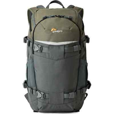 Lowepro Flipside Trek 250 AW BackPack (Grey/Dark Green)