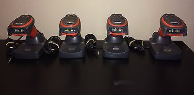 Lot of 4 Honeywell Handheld 4820i 4820ISFE Industrial Bluetooth Barcode Scanners