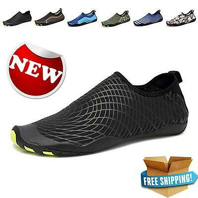 CIOR Men Womens Barefoot Quick Dry Water Sports Aqua Shoes 14 Drainage Holes New