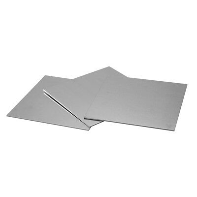 5pcs Aluminum Sheet Metal Plate For Model Craft DIY 200x200x0.3mm 100x200x1mm