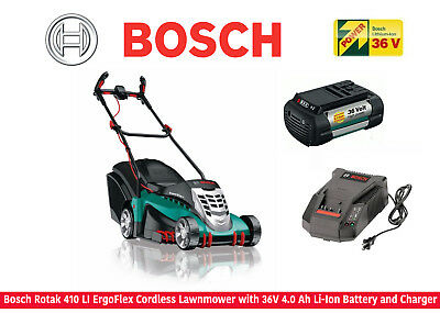 bosch rotak 36 li ergoflex cordless rotary lawnmower 36v li ion battery picclick uk. Black Bedroom Furniture Sets. Home Design Ideas