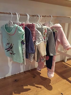 Baby Girl Clothes Bundle Size 3-6M (11 Pieces) Inc. Ted Baker, Peter Rabbit...