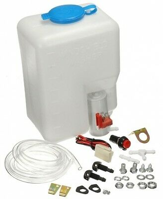 Windscreen Washer Pump 12V Universal Bottle Kit Cleaning Tools For Classic Cars