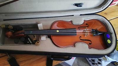 Beginners Violin Outfit - 3/4 Size Childrens Violin - Ideal First Violin