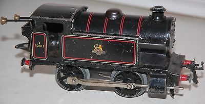 Hornby O Gauge Type 40 Loco In Br Black Livery Fully Working