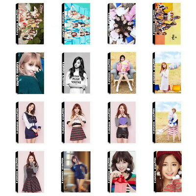 Lot of & 30pcs /box Kpop TWICE Collective Personal Photo card Lomo card
