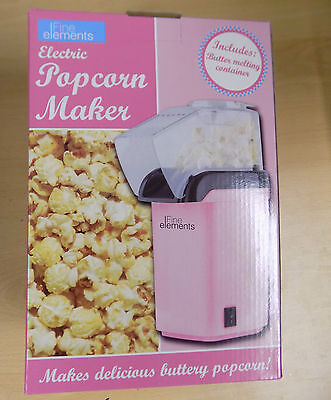 Fine Elements Popcorn Maker, Pink by Fine Elements O14