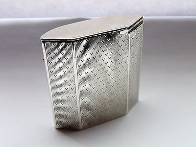 Rare Silver Vesta Case Padgett & Braham Ltd London 1926
