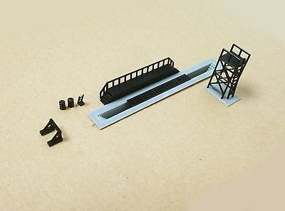 Outland Models Railroad Maint. Accessories Set: Pit Buffer Platform... Z Scale