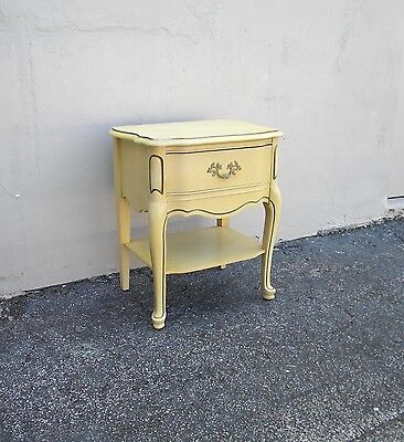French Painted Nightstand / End Table / Side Table 2400