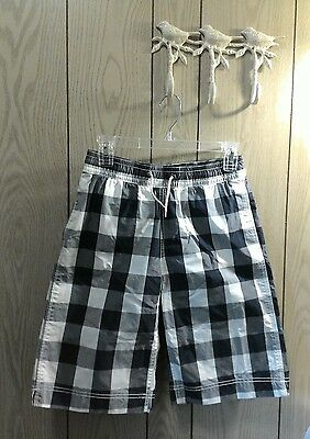 Boys GAP KIDS  blue and white surf swim trunks shorts XXL 14/16