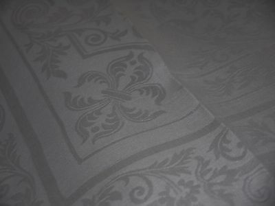 12*Antique*Irish*Damask*Linen*Napkins*Huge*27 Inches 25 inches*Old* Mono*Bows*
