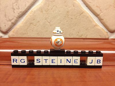 Lego Figura Star Wars™ BB-8™ BB8™ Droid Vader™ Kylo™ Yoda™ R2D2™ NUOVO