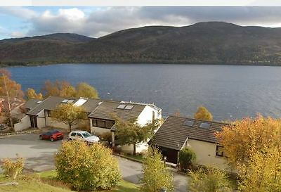 Loch Rannoch, June, 3 bed lodge, occupancy 2018 included and £300 cash back.