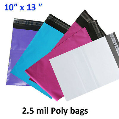 10x13 Poly Mailer Shipping Envelope Couture Boutique 2.5 Mil Mailing Plastic Bag