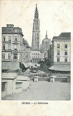 Cp Anvers Cathedrale