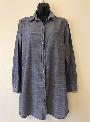 Gap Body Button Front Casual Long Sleeve Blouse Women's Size XS