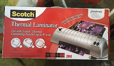 Scotch Thermal Laminator 2 Roller System (TL901) TL901 New