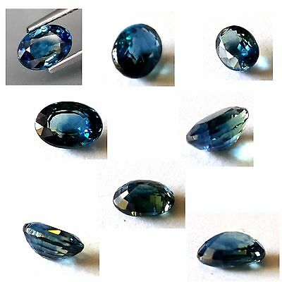1.66 Carat Natural Sapphire, Heated only