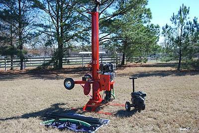 Well Drilling Equipment Drill Rig Deep Rock Boring Machine DIY Water Well Drill